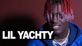 Lil Yachty eating pizza backstage, says Drake
