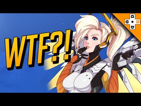 OVERWATCH WTF PLAYS - The Flight of the Mercys