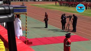 Ghana@62: President of Niger Mahamadou Issoufou's arrival at the Aliu Mahama Stadium