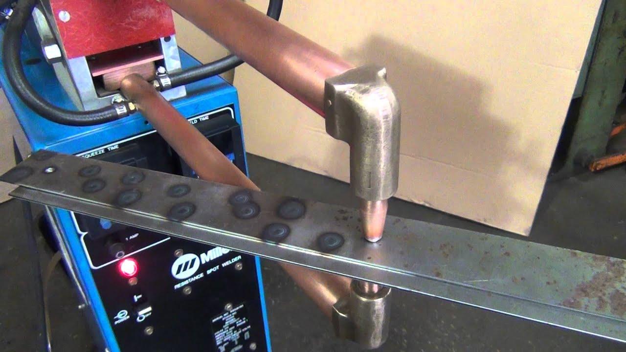 miller spot welder youtube rh youtube com miller msw-41t spot welder manual Industrial Spot Welder