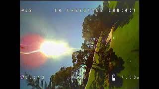 Tinyhawk FS First Flight