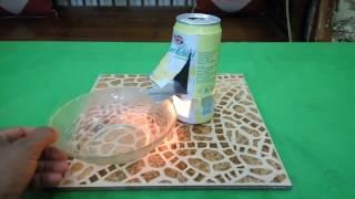 Cara Mudah Membuat Pemanggang Popcorn Dari Kaleng Bekas