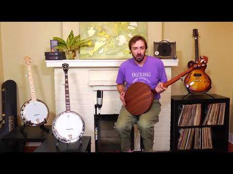 Deering Julia Belle Alison Brown Low Tuned Banjo Demo