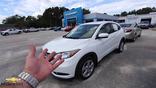 The 2016 Honda HRV - For Sale Review @ Marchant Chevy - August 2018