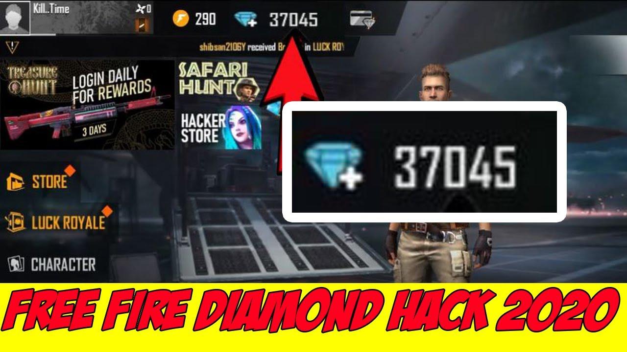 Free Fire Hack Unlimited Diamonds 2020 Unlimited Diamonds Script Free Fire Youtube