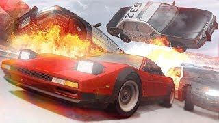 Beamng.drive - epic rollovers compilation (by veros)