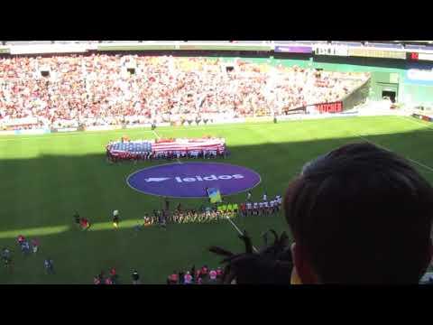 Himno de los Estados Unidos RFK Stadium - Mayor League Soccer.