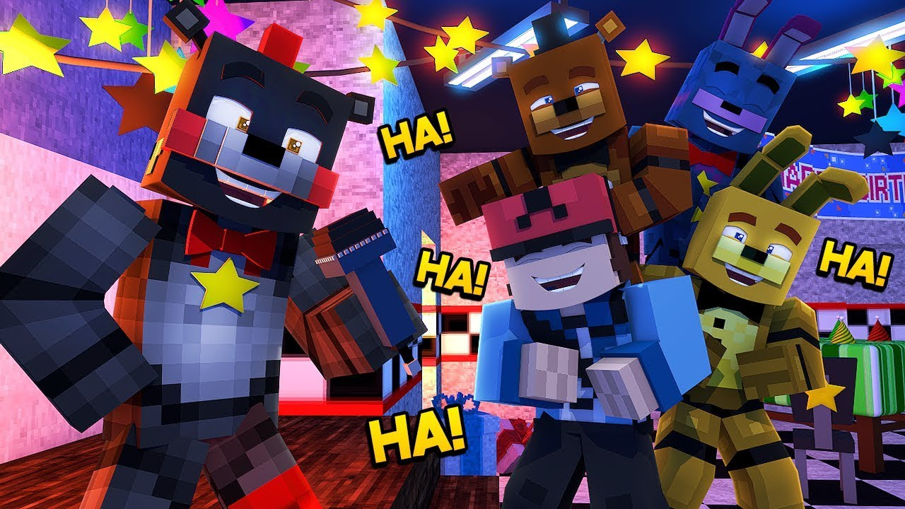 Minecraft FNAF 6 Pizzeria Simulator - LEFTYS COMEDY SHOW! (Minecraft  Roleplay)