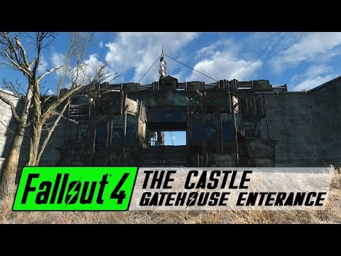 fallout 4 how to build straight walls