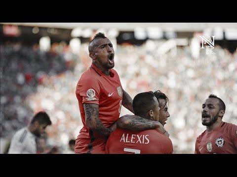 Arturo Vidal ''El REY'' #08  : Copa America Centenario 2016 Goles  jugadas
