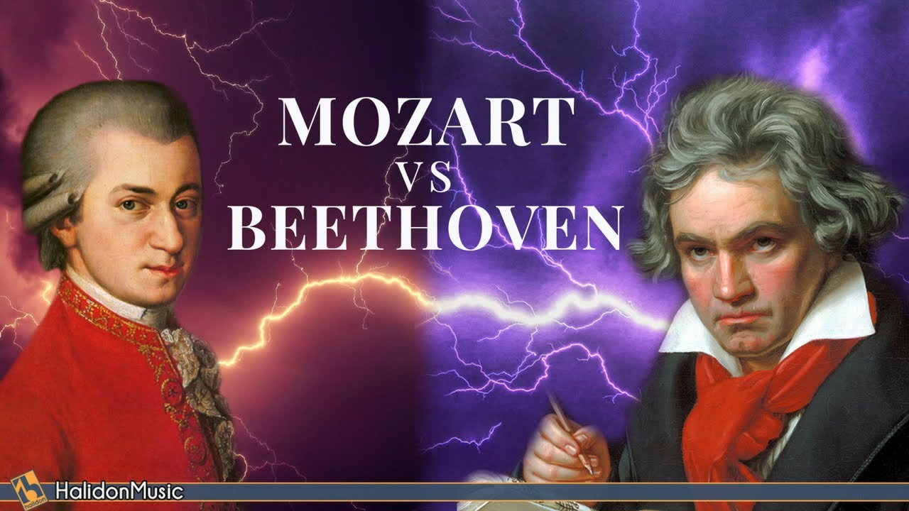 Mozart Vs Beethoven The Masters Of Classical Music Youtube