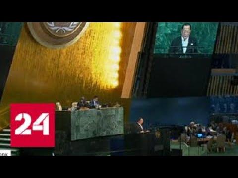"""Генассамблея ООН """"раскусила"""" трюк Порошенко - Россия 24"""
