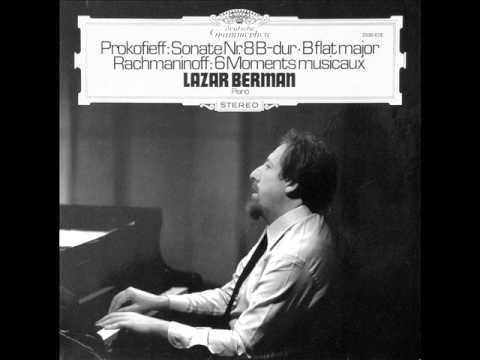 LAZAR BERMAN plays RACHMANINOV Moments Musicaux Op.16 COMPLETE (1975)
