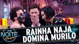 "The Noite (08/09/16) - Rainha Naja ""domina"" Murilo Couto"