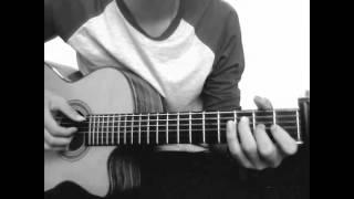 Vâng Anh Đi Đi - Guitar solo fingerstyle by Mạnh Mon