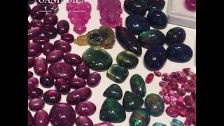 Chiêm ngưỡng vẻ đẹp những viên đá quý thiên nhiên tại đá quý Oanh Điền
