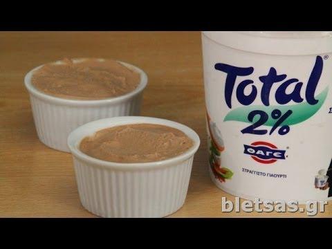 Εύκολο Frozen Yogurt Σοκολάτα