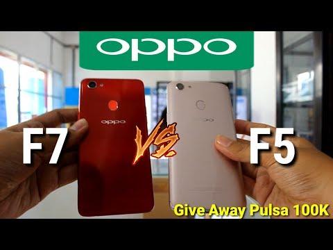 OPPO F7 vs OPPO F5  indonesia
