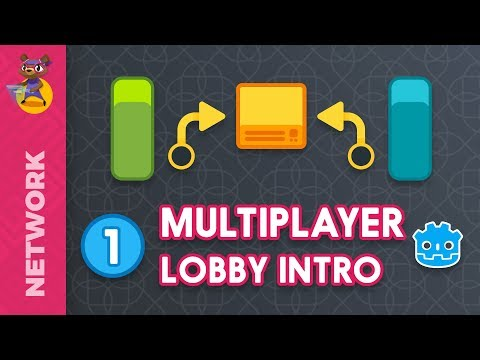 Intro to Multiplayer in Godot 3: Lobby Demo Overview (tutorial)
