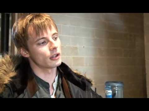 Merlin special features Bradley & Colin's video diary