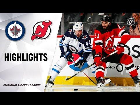 Jets @ Devils 10/04/19 Highlights