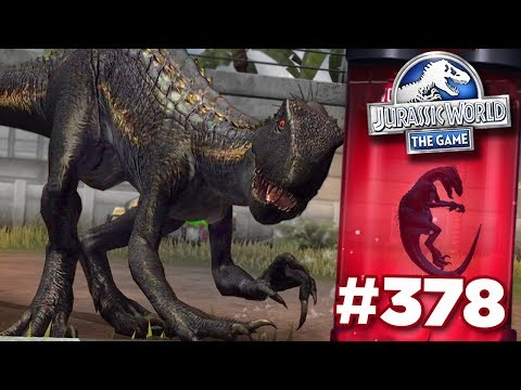 INDORAPTOR UNLOCKED FINALLY!!! | Jurassic World - The Game - Ep378 HD