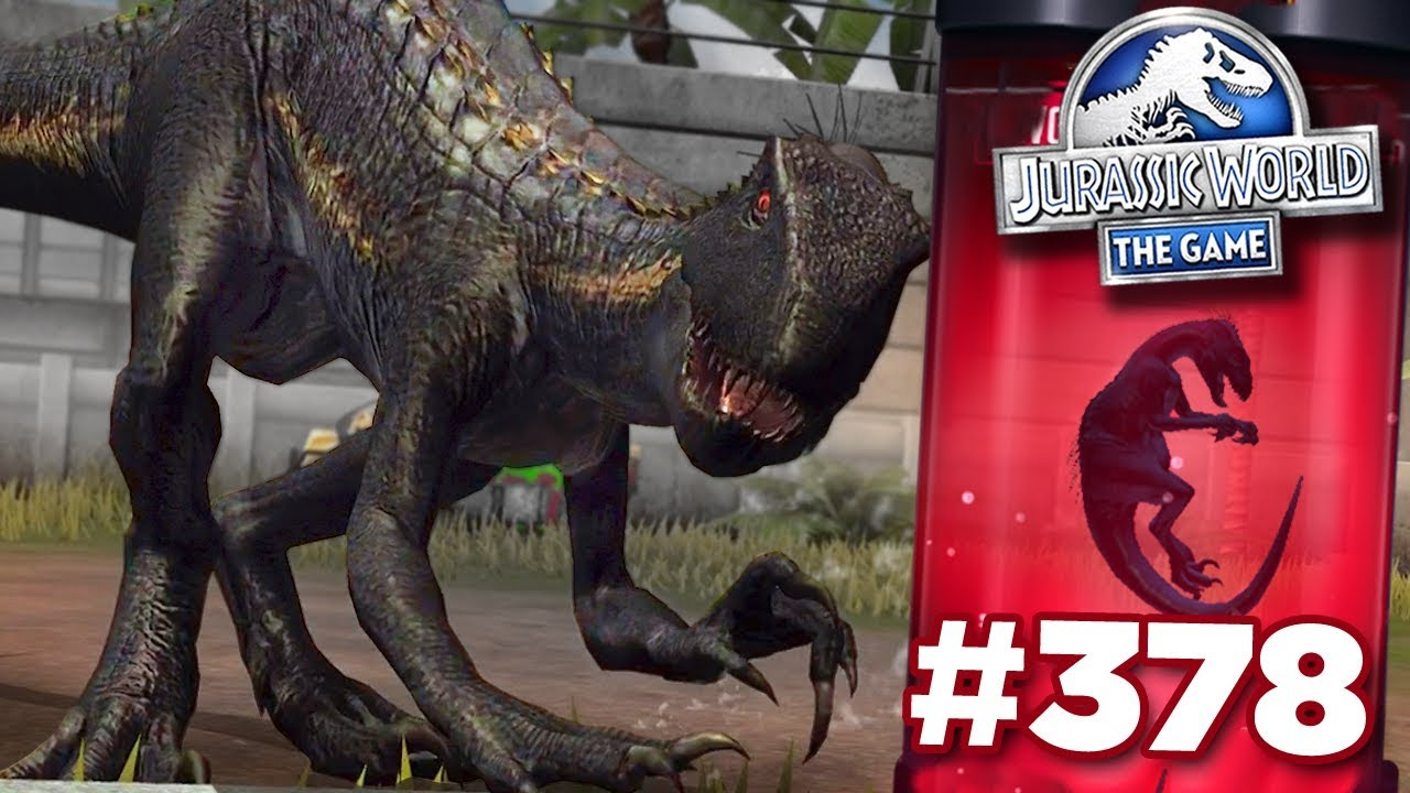Download INDORAPTOR UNLOCKED FINALLY!!! | Jurassic World - The Game - Ep378 HD