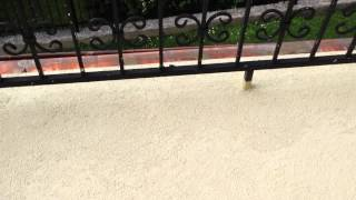 Tekutá dlažba ALF BL100 aplikace na balkon