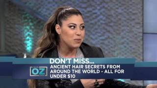 ANCIENT HAIR SECRETS BY DR Oz WILL MAKE YOU LOOK 10 YEARS YOUNGER