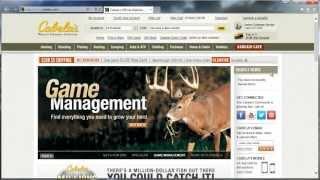 Cabelas.com (Кабелас, США, все для спорта, туризма, охоты и рыбалки). Обзор интернет - магазина.