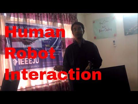 Seminar On Human Robot Interaction By IEEE SB, JU, BANGLADESH
