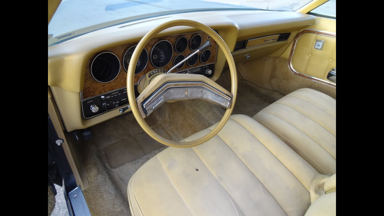 Ford Elite Gran Torino Classic Youngtimer Coupe Interior