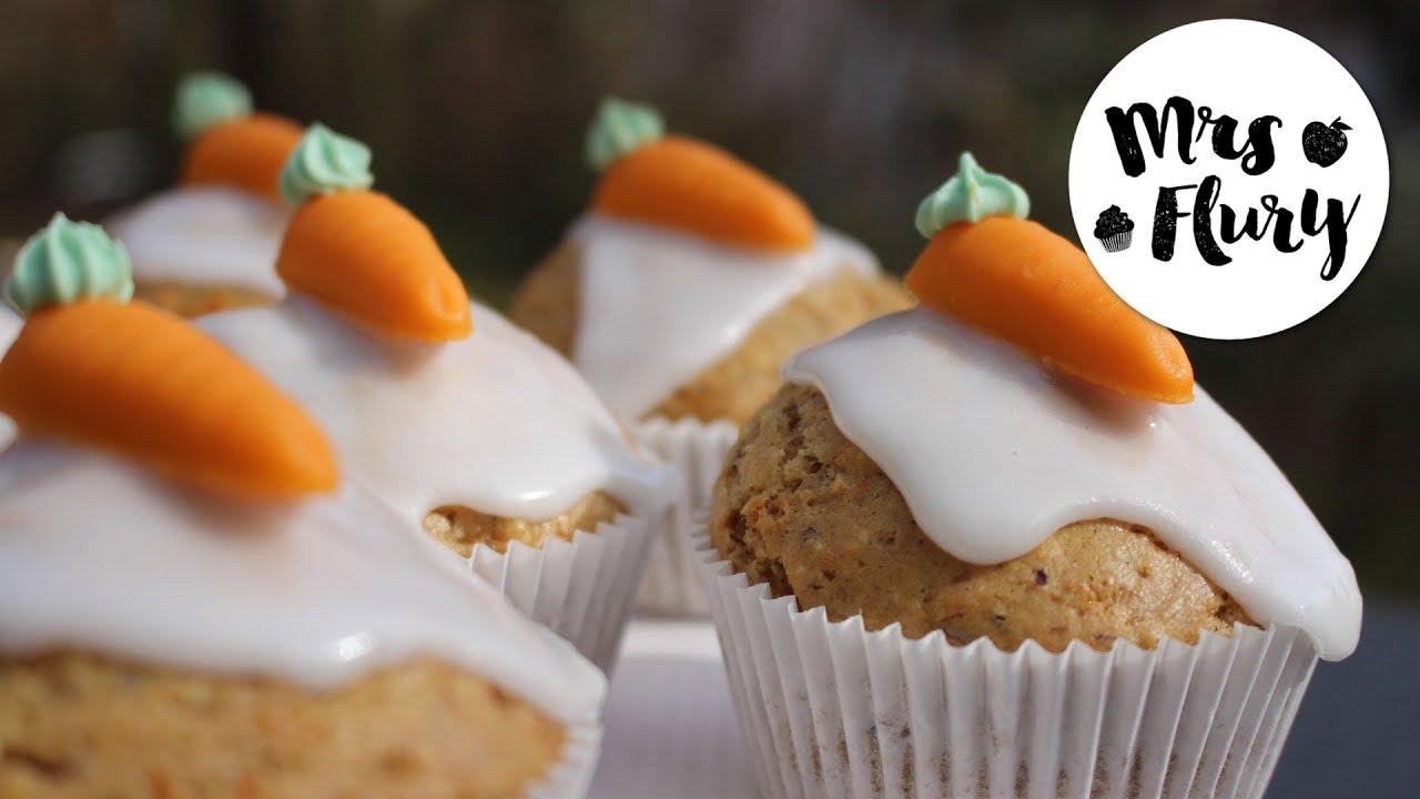Vegane Karotten Muffins Super Saftig Und Lecker Vegan Backen