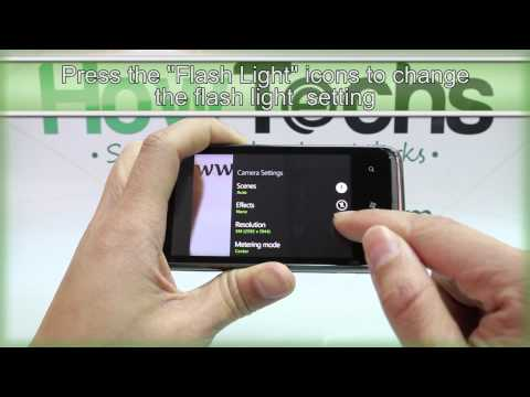 How to Use the Camera on HTC 7 Pro