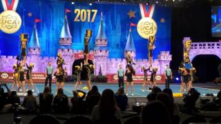 Live Oak High Cheer performs at NHSCC 2/12/17