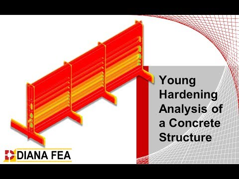 Young Hardening Analysis of Concrete Tunnel