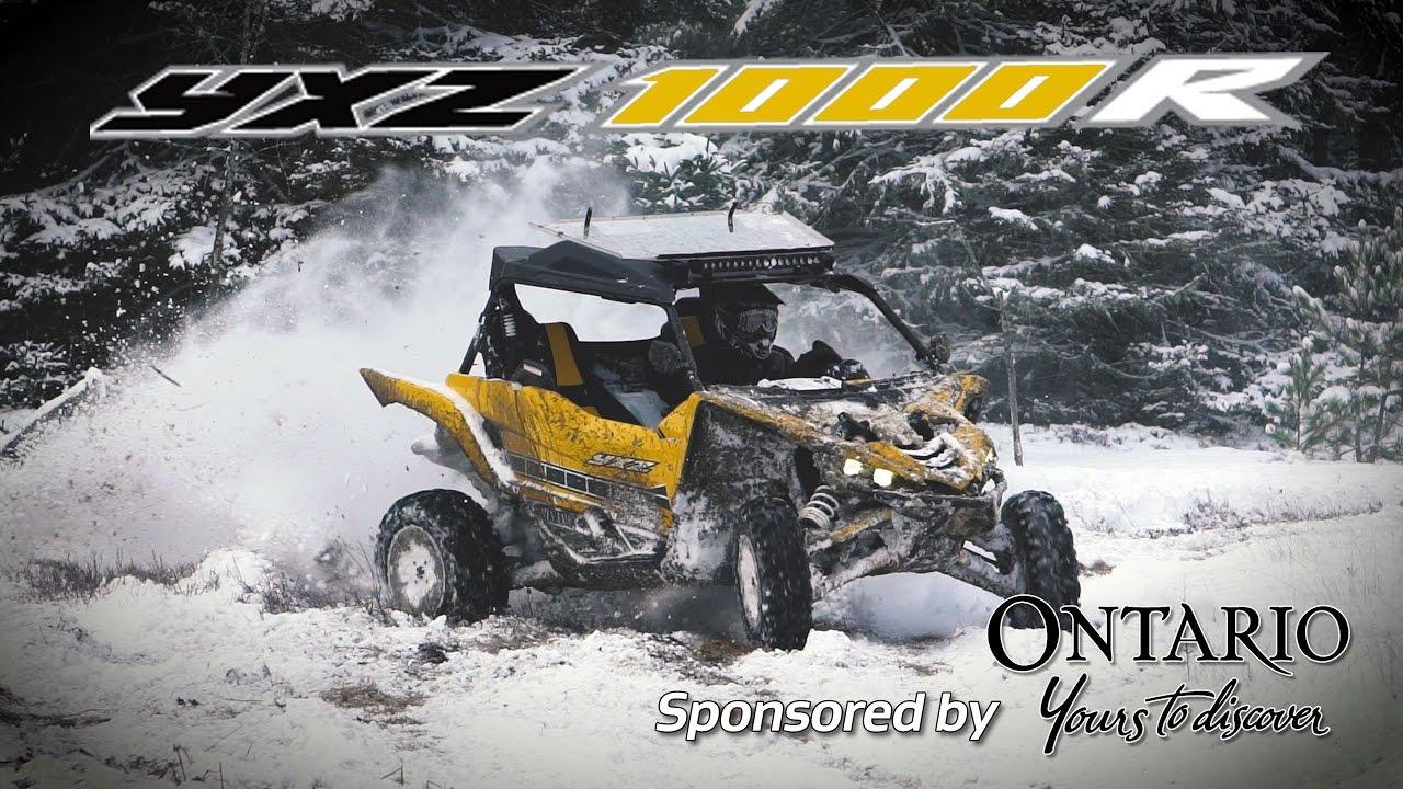 Snow Day with a Yamaha YXZ1000R - Dauer: 3 Minuten, 3 Sekunden