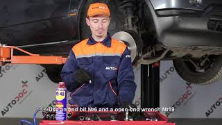 How to replace Brake Hose on FIAT DUCATO Platform/Chassis (250) - video tutorial
