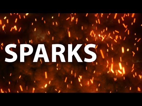 AEplus 004 - Creating flying sparks in After Effects with Trapcode Particular