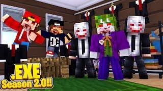 Minecraft .EXE 2.0 - JOKER.EXE PLANS TO RUIN JACK.EXE & HARLEY.EXE