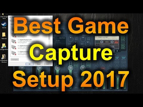 Best Game Capture / Streaming Setup 2017 - OBS, Voicemeeter, & Teamspeak