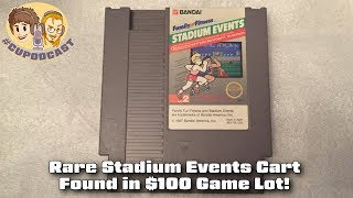 Rare Stadium Events Cart Found in $100 Game Lot!