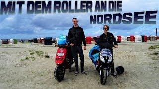 Mit dem Roller an die Nordsee