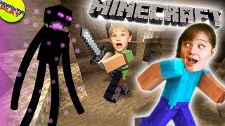 Майнкрафт Опа ЭНДЕРМЕН и ЭНДЕР жемчуг в Minecraft