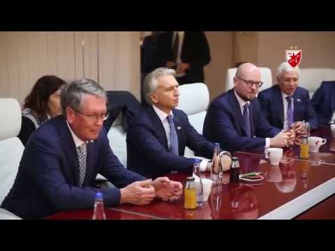 Aleksandar Djukov: Gazprom namerava da produži saradnju sa Zvezdom