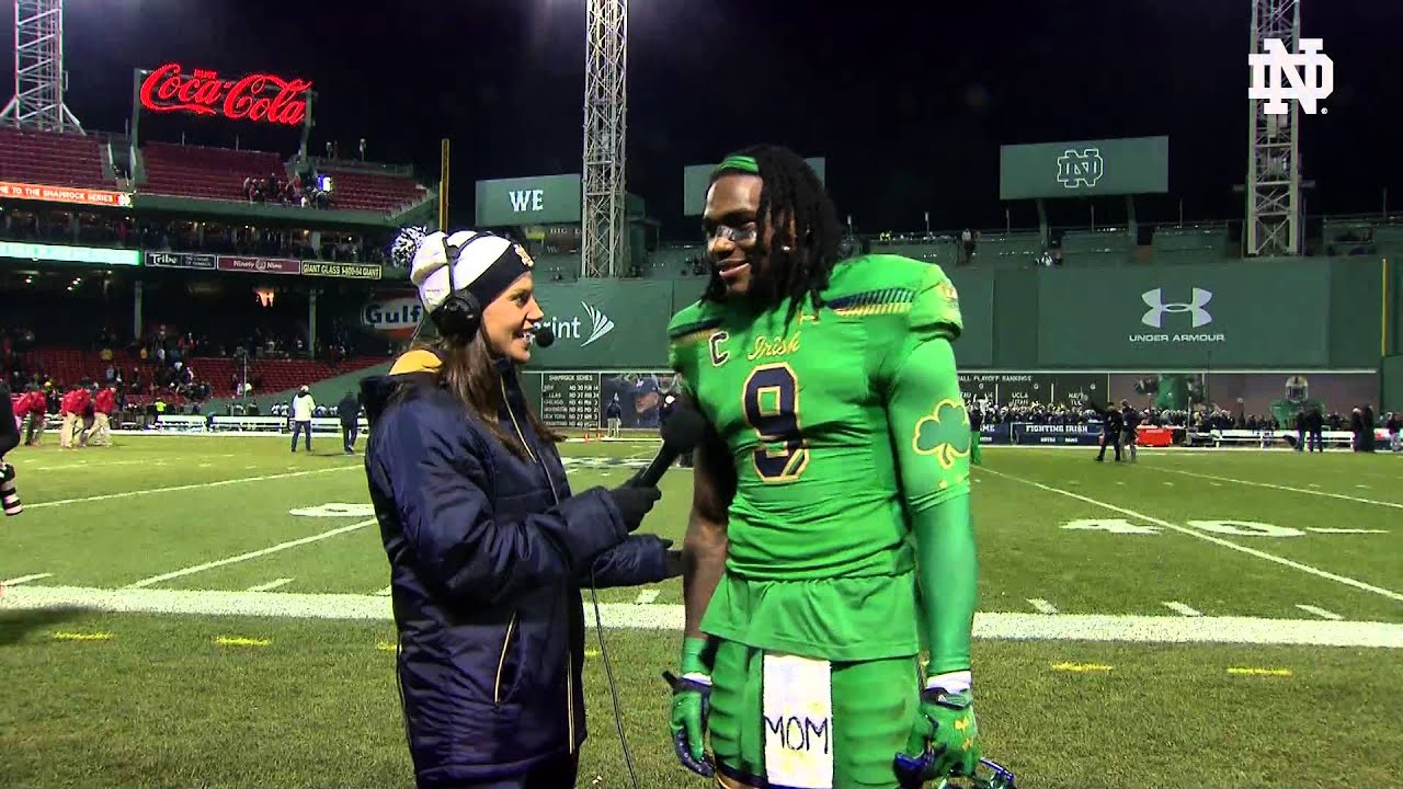 INSTANT REACTION With Jaylon Smith – Notre Dame Fighting Irish ...
