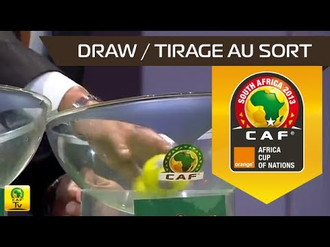 DRAW - TIRAGE AU SORT : Orange Africa Cup of Nations, SOUTH AFRICA 2013