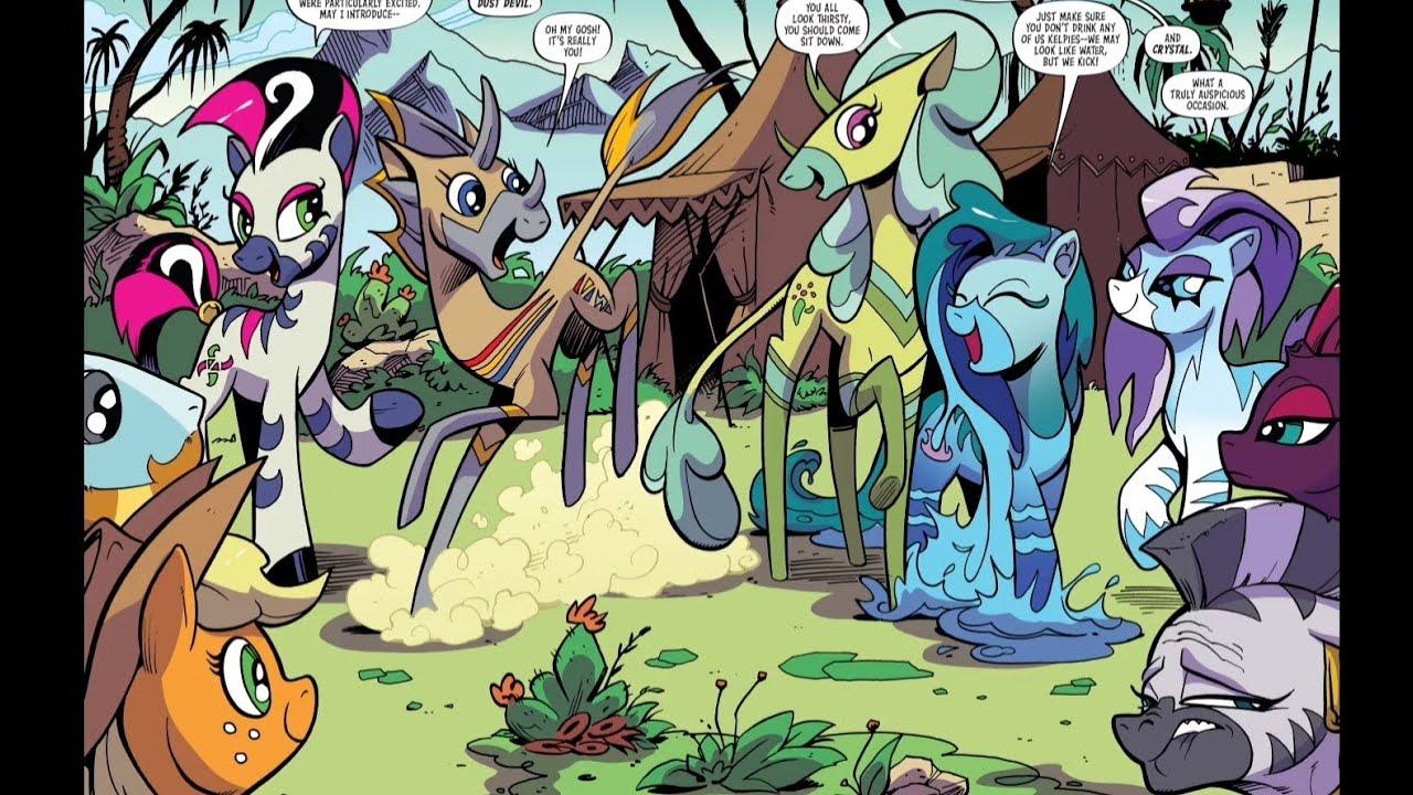 My Little Pony Fim Season 10 Episode 1 Mlp Comic 89 Youtube