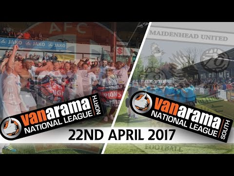 MASSIVE GAME 1st vs 2nd  - 22nd April 2017 | Non League News Flash