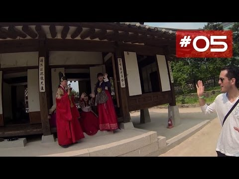 Village traditionnel de Corée - Namsangol Hanok Village (남산골 한옥마을)